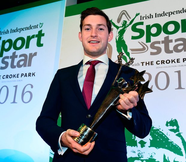 Paul O'Donovan, who shared our 2016 Sportstar of the Year award with his brother Gary. Photo: Sportsfile