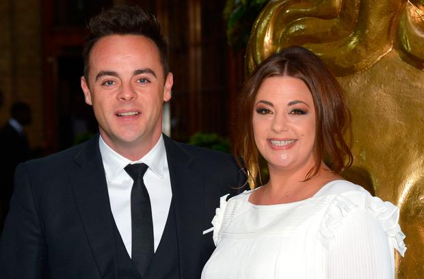 Anthony McPartlin and Lisa Armstong attend the British Academy Television Craft Awards at The Brewery on April 26, 2015 in London, England. (Photo by Stuart C. Wilson/Getty Images)
