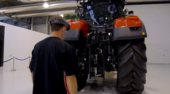 For Case IH, the HoloLens has a clear advantage in two major fields: remote assistance and training.