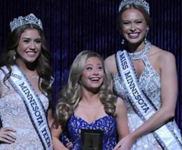 Mikayla Holmgren took part in the Miss Minnesota over the weekend.