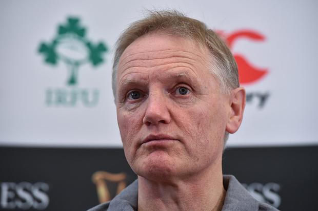Kildare , Ireland - 16 November 2017; Ireland head coach Joe Schmidt during an Ireland rugby press conference at Carton House in Maynooth, Kildare. (Photo By Matt Browne/Sportsfile via Getty Images)