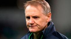 Ireland head coach Joe Schmidt. Photo: PA