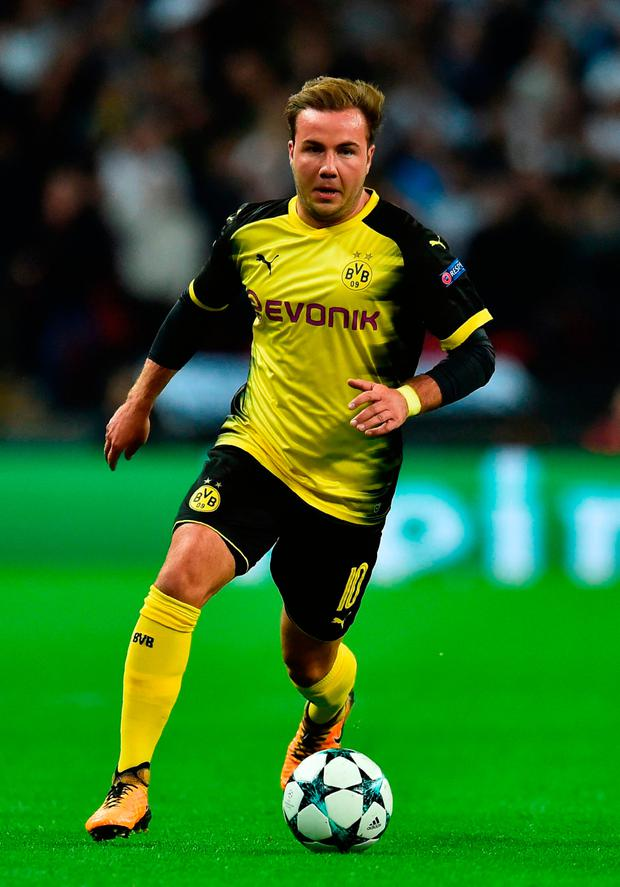 Mario Goetze. Photo: Getty Images