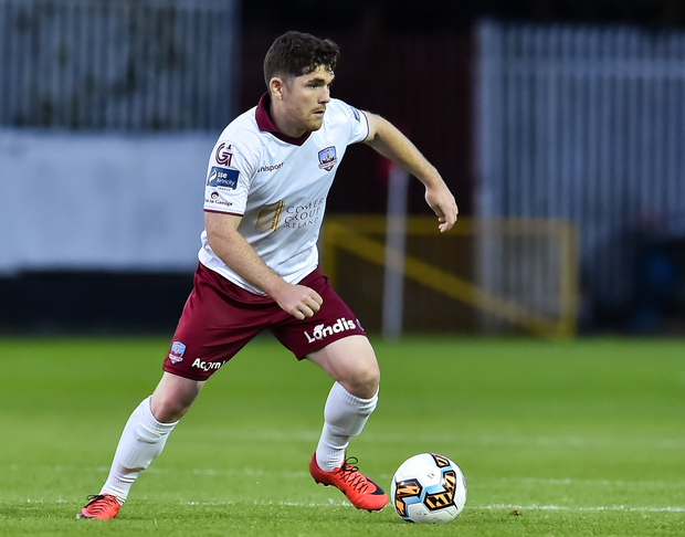 Ronan Murray of Galway United during the Irish Daily Mail FAI Cup Second Round match between St. Patrick's Athletic and Galway United at Richmond Park, in Dublin. Photo by Matt Browne/Sportsfile