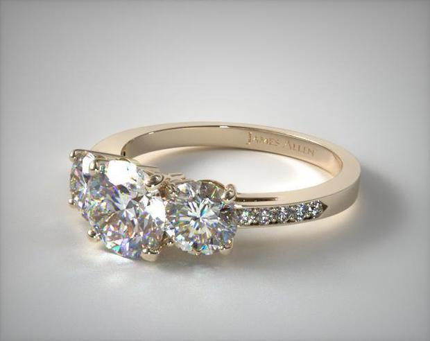 Ring style #17135Y, $2,047 from JamesAllen.com