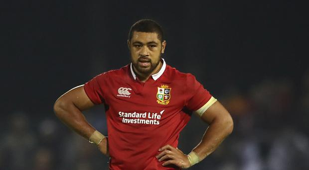 Taulupe Faletau of the Lions looks on during the match between the New Zealand Provincial Barbarians and the British & Irish Lions at Toll Stadium on June 3, 2017 in Whangarei, New Zealand. (Photo by David Rogers/Getty Images)