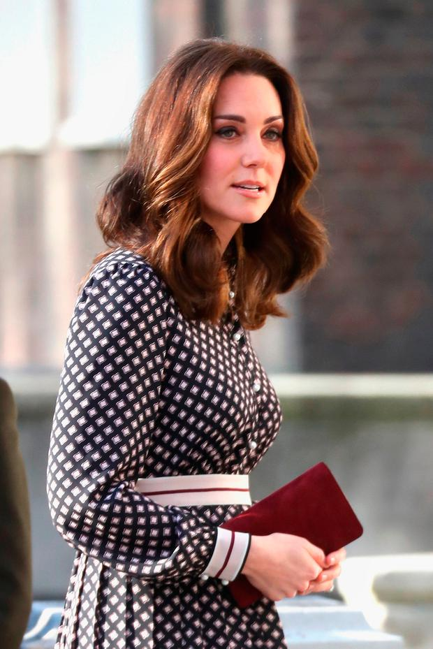 Catherine, Duchess of Cambridge visits The Foundling Museum on November 28, 2017 in London, England. (Photo by Chris Jackson/Getty Images)