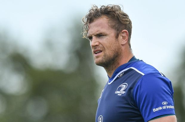 Jamie Heaslip is aiming to return to the pitch in time for the Six Nations. Photo: Ramsey Cardy/Sportsfile