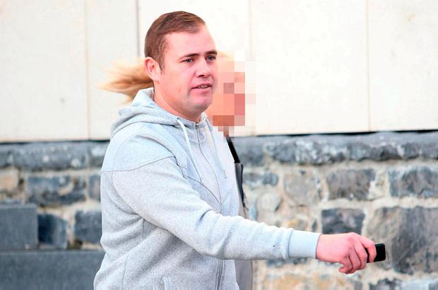 Gary Hayes was fined €300 for public order offences
