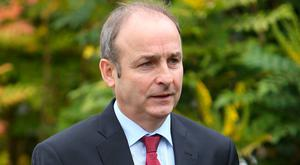 Micheál Martin. Photo: Damien Eagers