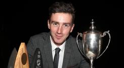 PJ O'Keefe from Kilkenny was named as winner of the FBD Young Farmer of the Year.