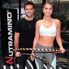 Vogue Williams pictured with boyfriend Spencer Matthews as she was announced as Ambassador for Nutramino sports nutrition brand. Picture: Brian McEvoy