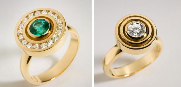 Variation on the traditional halo - Rings by Rudolf Heltzel