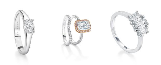 Unusual Cuts - Engagement rings from Boodles
