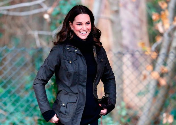 Catherine, Duchess of Cambridge visits the Robin Hood Primary School to celebrate ten years of The Royal Horticultural Society campaign for school gardening on November 29, 2017 in London, England. (Photo by Chris Jackson/Chris Jackson/Getty Images)
