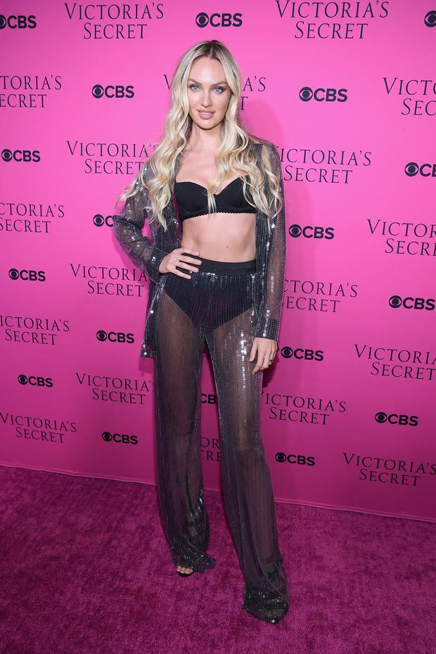 69c8faee Victoria's Secret Angel Candice Swanepoel attends as Victoria's Secret  Angels gather for an intimate viewing party of the 2017 Victoria's Secret  Fashion ...