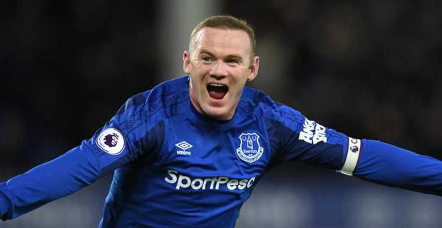 Wayne Rooney blasted a sensational hat-trick as Everton thumped West Ham at Goodison Park