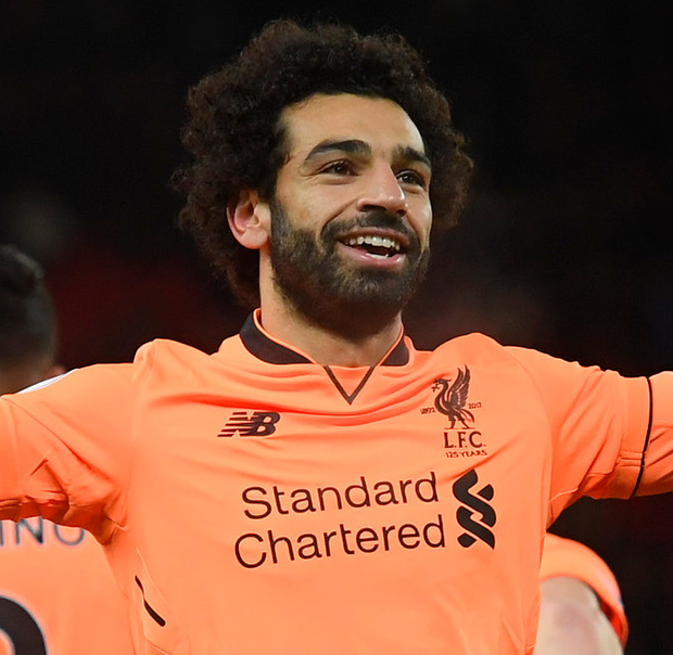 Liverpool's Mohamed Salah. Photo: Getty Images