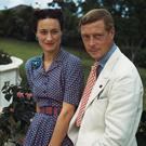 Scandal: American divorcée Wallice Simpson and Edward in 1942