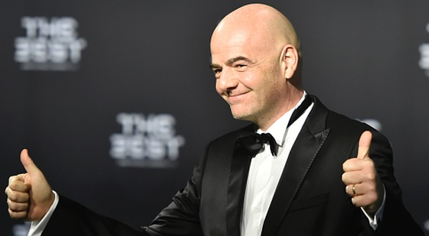 FIFA president Gianni Infantino. Photo: Getty Images