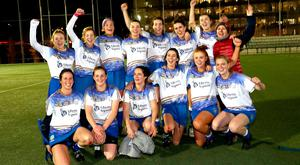2017 Liberty Insurance Camogie All-Star Game, Estadio Central, Universidad Complutense Madrid, Spain 30/11/2017 The victorious 2016 All-Star team Credit ©INPHO/Dan Sheridan