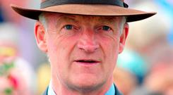 Willie Mullins's Total Recall is sure to be warm in the betting and may well go off as favourite here. Photo credit: PA Wire