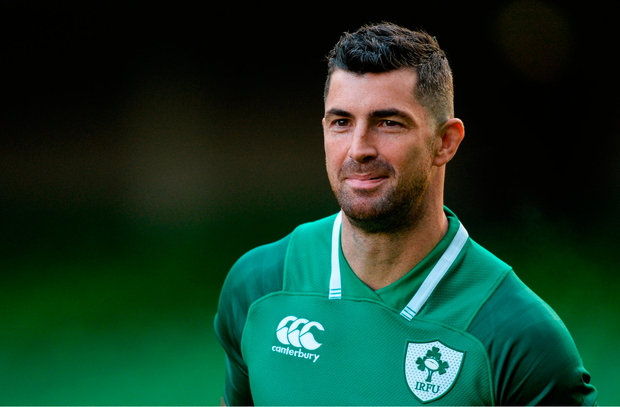 Rob Kearney's experience and leadership skills were vital to Ireland's clean sweep of victories in the November International series. Photo by Piaras Ó Mídheach/Sportsfile
