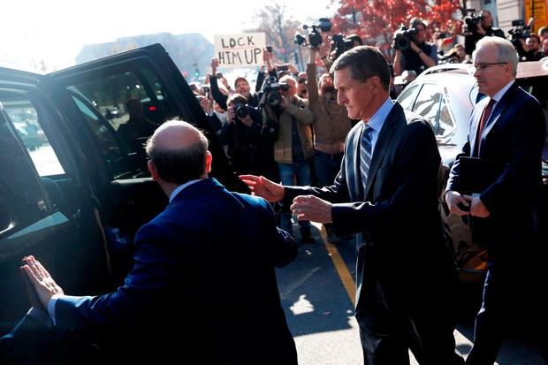 Former US national security adviser Michael Flynn leaves the US District Court in Washington after pleading guilty to lying to the FBI about his contacts with Russia's ambassador to the United States. Photo: Jonathan Ernst/Reuters