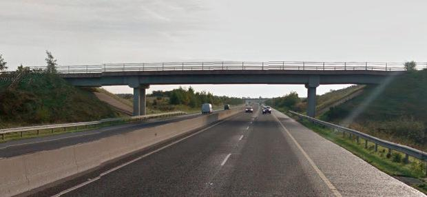 The incident happened on the M6 last month (stock image)