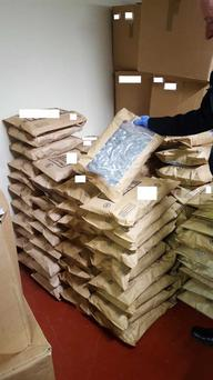 The drugs were seized by gardai from Ronanstown