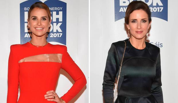 Vogue Williams, left, and Maia Dunphy, right