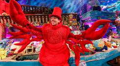 Ryan Tubridy pictured during the opening sequence of the RTÉ One Late Late Toy Show. Picture Andres Poveda