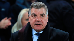 Everton manager Sam Allardyce. Photo: PA