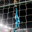 Manchester United goalkeeper David De Gea makes a finger-tip save during last night's win over Arsenal at Emirates Stadium. Photo: Julian Finney. Photo: Getty Images