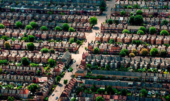 'House prices are rising at a rate of €50 a day, according to a Daft.ie survey' Stock photo: PA