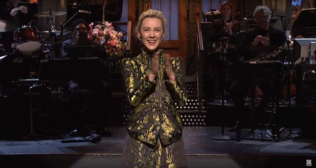 Saoirse Ronan on Saturday Night Live