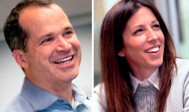 Matt Hulsizer and Jennifer Just are the husband-and-wife team behind private equity firm Peak6