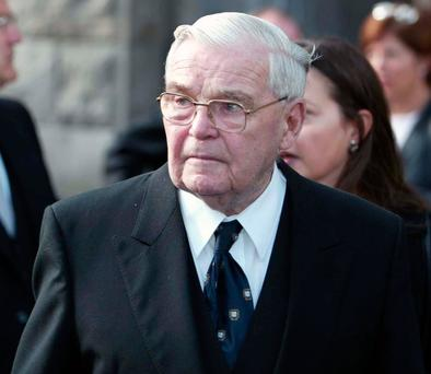 Former Chief Justice Thomas Finlay, who died yesterday