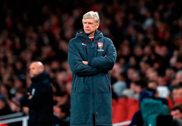 Arsene Wenger has to accept his Arsenal side were the authors of their own downfall. Photo: PA
