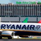 'Yesterday, the interim European Employees Representative Council (EERC), formed in the wake of September's flight cancellations at Ryanair, wrote to pilots urging them to sign up to the national pilot association' (stock photo)