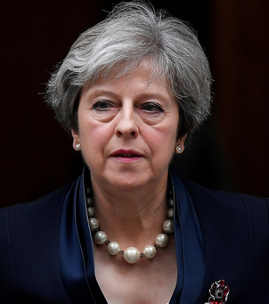 British Prime Minister Theresa May Photo: REUTERS/Toby Melville/File Photo