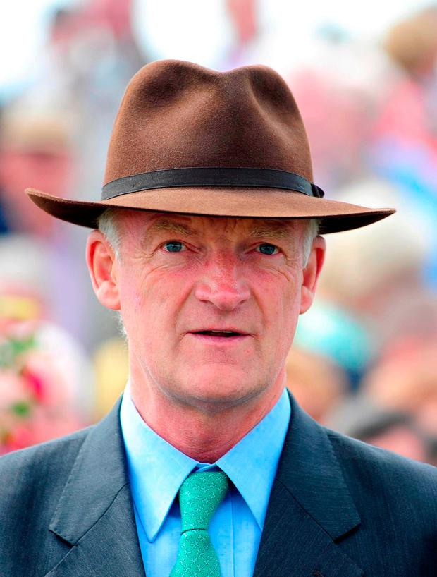 Mullins has also entered last year's winner Un De Sceaux, but providing Douvan does make the trip, that one is more likely to contest Sunday's Hilly Way Chase at Cork.. Photo credit: PA Wire