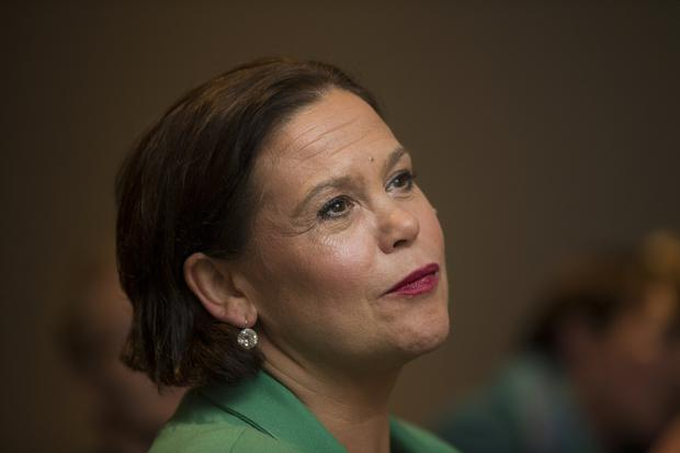 Mary Lou McDonald has been selected candidate in her Dublin Central constituency and has confirmed she will seek nomination for the position of president of Sinn Féin tonight at The Gresham Hotel. 4/12/2017 Picture by Fergal Phillips