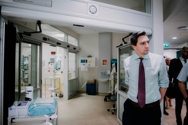 Simon Harris pictured as he opened the emergency department at UHL in June. Photo: Brian Arthur