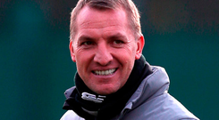 Celtic manager Brendan Rodgers. Photo: PA Wire