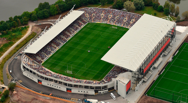 An aerial view of Páirc Ui Chaoimh. Photo: Sportsfile