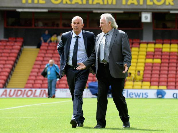 Gerry Francis has followed Tony Pulis out of the West Brom exit Getty