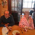 Edward and Noreen Mealy escaped a gas explosion at their home