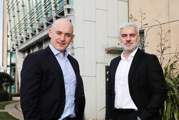 Eoin Goulding, CEO, Integrity360 and Jason Simper, Director, Metadigm.