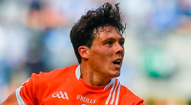 Armagh's James Morgan has decided to go travelling until July. Photo: Ramsey Cardy/Sportsfile